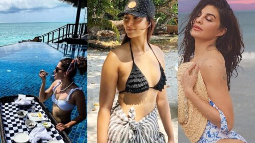 Jacqueline Fernandez, Taapsee, and Ileana D'Cruz's Beach Pictures