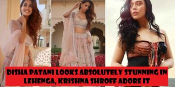 Krishna Shroff is in love with Disha Patani