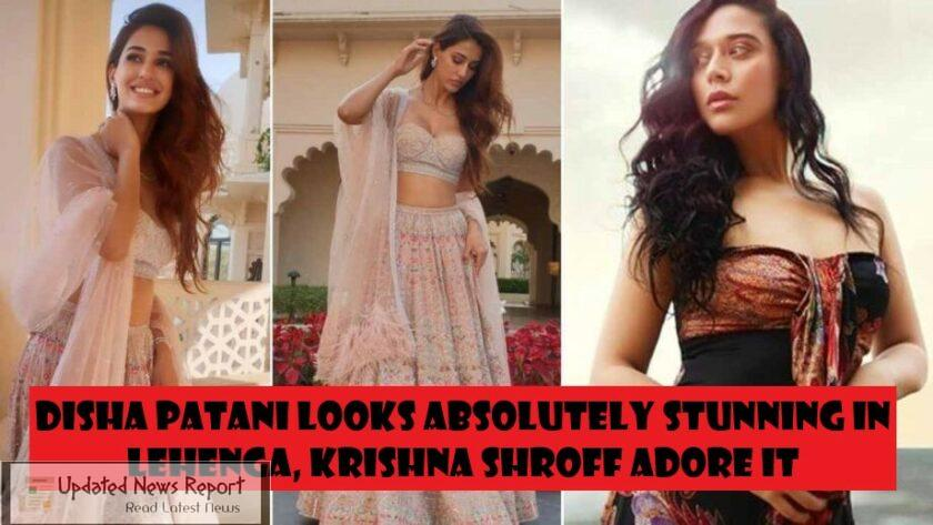 Krishna Shroff is in love with Disha Patani